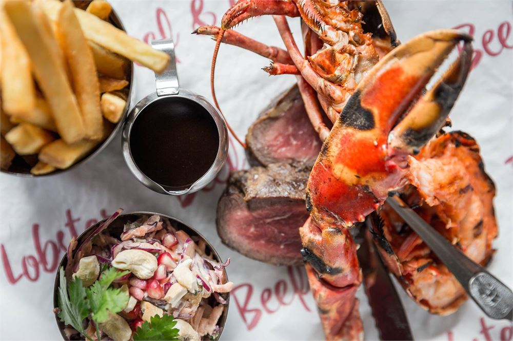 Beef and Lobster food dublin