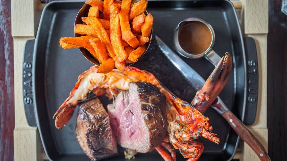 Beef & Lobster - Temple Bar