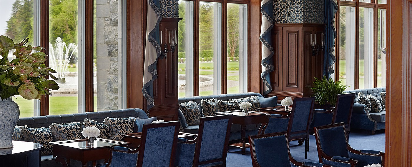 The Drawing Room at Ashford Castle