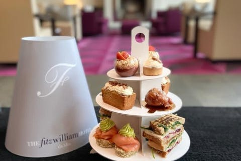 Afternoon Tea To Go at The Fitzwiliam Hotel